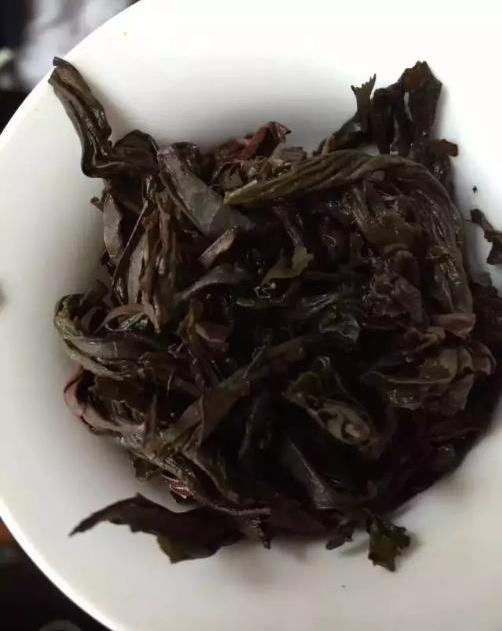 传统手工制作好茶
